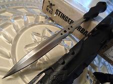 "M48 Stinger Urban Spike Dual Edge Dagger Knife 7mm Full Tang 2Cr13 UC2936 8"" OA"