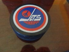 vintage WINNIPEG JETS Puck NHL OFFICIAL Viceroy CANADA