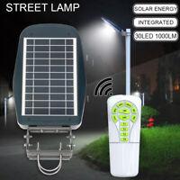 30 LED Solarleuchte Solarlampe Straßenbeleuchtung Hofbeleuchtung  0 3