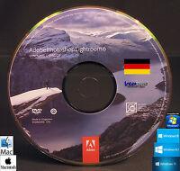 Adobe Photoshop Lightroom 6 Installations-DVD Windows / Mac OS Deutsch NEU