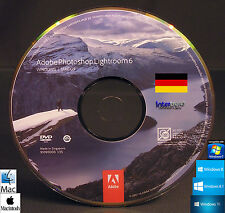 Adobe Photoshop Lightroom 6 Installations-DVD Windows / Mac OS Deutsch NEU