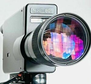 Braun Nizo 801 super 8 camera fully functional / Film Tested / serviced