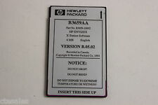 HP B3659AA D3659-10002 ENVIZEX X STATION SOFTWARE 4MB PCMCIA
