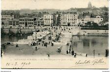 CPA - Carte postale -France -Boulogne sur Mer - Le Pont Marguet et les Quais