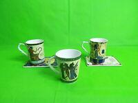 Fathi Mahmoud Limoges Mugs x 3