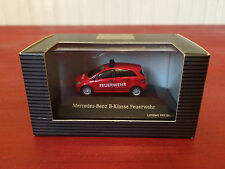 Mercedes Benz HO 1/87 Scale LE B-Klasse Feurwehr Emergency Vehicle NIB!!!
