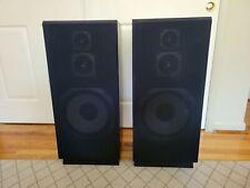 2 vintage SEARS 3-way speakers LXI SERIES (8Ω 100W Hi-Fi Speakers)