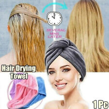 Women Super Absorbent Quick-dry Microfiber Bath Towel Hair Dry Cap Salon Towels