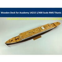 Wooden Deck for Academy 14215 1/400 RMS Titanic Ship Model with Anchor Chain