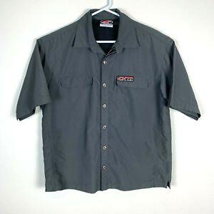 Alpinestars Short Sleeve Button Up Shirt Size Men's Medium/Large