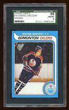 SGC 88 WAYNE GRETZKY 1979-80 TOPPS ROOKIE RC #18 AMAZING LOOKING CARD  HOF   HOT