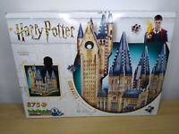 Harry Potter Hogwarts Astronomy Tower 🗼 Wrebbit 3D Puzzle 875 Piece Complete.