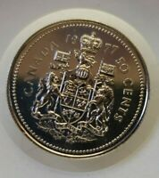 1977 CANADA FIFTY CENT ($.50) SPECIMEN COIN ~ UNCIRCULATED ~