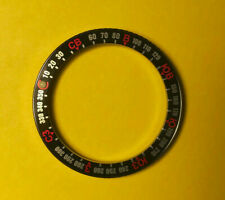 New Russian Compass Insert Knurled Bezel for Vostok Amphibian Komandirskie Watch