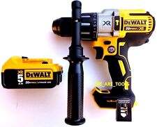 "New DeWalt DCD996 20V Brushless 1/2"" Hammer Drill, (1) DCB205 5.0 Battery MAX"
