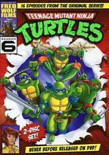 Teenage Mutant Ninja Turtles Season 6 DVD Set Region 1 Cartoon 80's Series TMNT