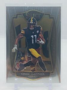 CHASE CLAYPOOL RC #170 - 2020 SELECT NFL Football - Premier level