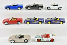 Johnny Lightning Lot of 8 1998 Corvette Convertibles All Mint 1:64 Scale