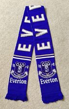 EVERTON FC Scarf Sale Brand New Good Size Great Quality Knitted Scarf