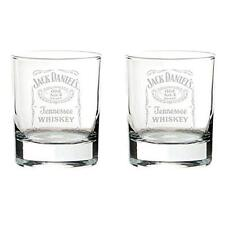 Jack Daniels - Old No.7 Brand Glass Tumbler Set - New & Official