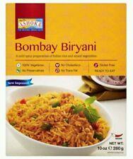2 Paquet Ashoka Indian plats cuisinés. Bombay biriyani (Riz Basmati) Végétarien
