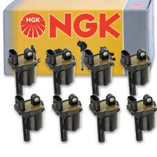 8 pcs NGK Ignition Coil for 2015-2016 Chevrolet Suburban 5.3L V8 - Spark co