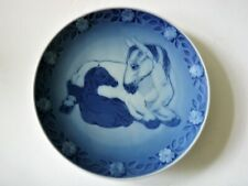 Royal Copenhagen 1984 Mother Horse & Young One Collector Plate