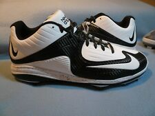 Nike Air Mvp Bsbl Pro Ii 2 Metal Size 13 Brand New Baseball Cleats white black