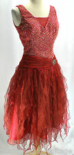 Alyce Paris Evening formal cocktail sexy Crystals dress bead pageant quinceanera