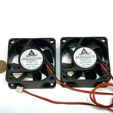2 pieces Computer case 2Pin 6025 DC Fan 24V 6cm 60x60x25mm Motor Cooling C40