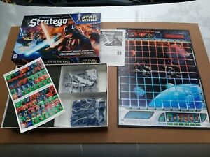 2002 Star Wars Stratego Game by Milton Bradley Complete SEALED BAGS! Rare! NIB