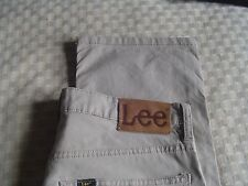 Jeans Lee Crema ligero de algodón 32 X 32