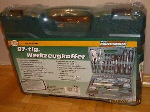 Brüder Mannesmann Werkzeug - 87tlg  Werkzeugkoffer - Art.-Nr.: 29084