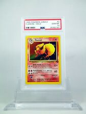 PSA 10 GEM MINT Flareon HOLO Unlimited Pokemon Jungle #3/64
