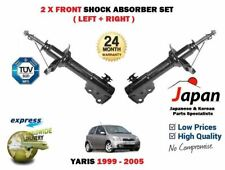 FOR TOYOTA YARIS VITZ 1999-2005 2 x FRONT LEFT + RIGHT SHOCK ABSORBER SHOCKER