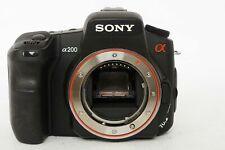 Sony Alpha A200 10.2 MP Digital SLR DSLR Camera Body