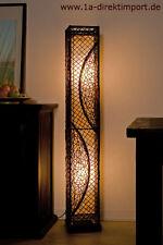 Exklusive Stehlampe, Leuchten, Stehlampen mit Rattan, Rattanleuchte, neu