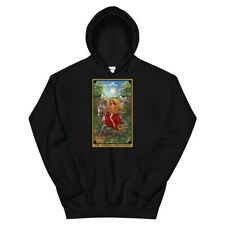 The Goddess Rhiannon The Sun Tarot Card Hoodie Celtic Witch Pullover Witchcraft