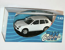 PORSCHE CAYENNE TURBO (2002) White - 711 Collection Model Scale 1:43