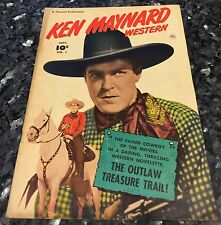 KEN MAYNARD WESTERN#1, GOLDEN AGE PHOTO COVER, G/VG3.0