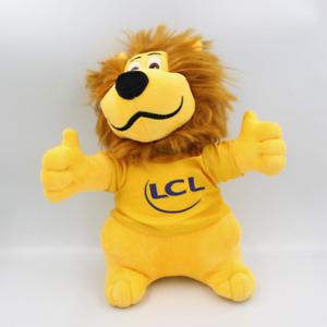 Doudou peluche lion tee shirt CREDIT LYONNAIS LCL - Chat, Lion, Tigre Classique