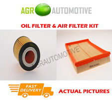 PETROL SERVICE KIT OIL AIR FILTER FOR VAUXHALL CORSA 1.0 60 BHP 2003-06