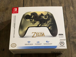 The Legend of Zelda Rechargeable Wireless Controller By PowerA (Nintendo Switch)