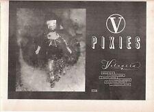 PIXIES Velousia 1990 UK Press ADVERT 12x8 inches