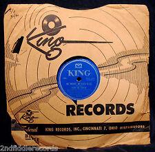 IVORY JOE HUNTER-No Money, No Luck Blues-Museum Quality Blues 78-KING #4255