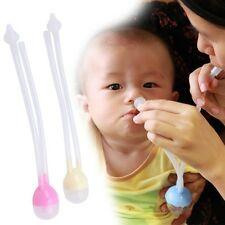 Newborn Baby Safety Nose Cleaner Vacuum Suction Nasal Aspirator Flu Protections
