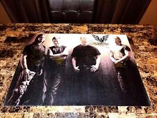 Alter Bridge Rare Band Signed Poster Mark Tremonti Myles Kennedy Slash Creed +