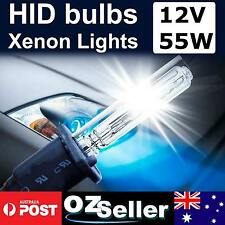H1 H3 H7 Bi-Xenon Pair Globes Bulbs Replacement Bulbs 55W HID 6000K 8000K 10000K