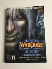 Warcraft III 3 Frozen Throne Official Battle Chest Guide Blizzard