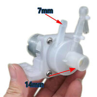 Water Self-Priming Pump DC12V 1- 2L/M Spray Pumping Motor High Pressure